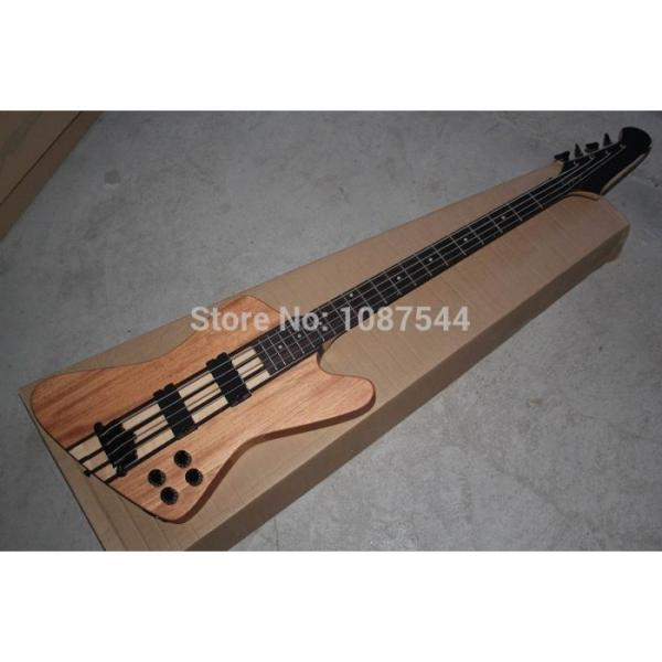 Custom Shop Thunderbird Natural 5 Pcs Body Wood Electric Bass #3 image