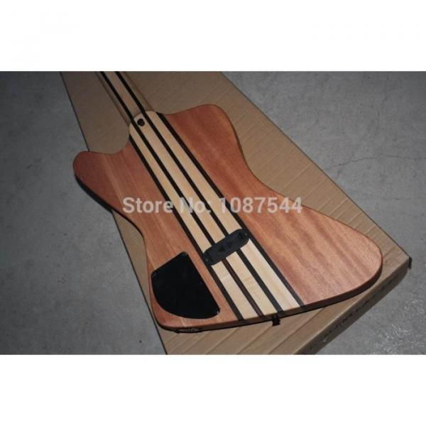 Custom Shop Thunderbird Natural 5 Pcs Body Wood Electric Bass #5 image