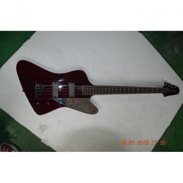 Custom Shop Thunderbird Burgundyglo Electric Bass #4 image