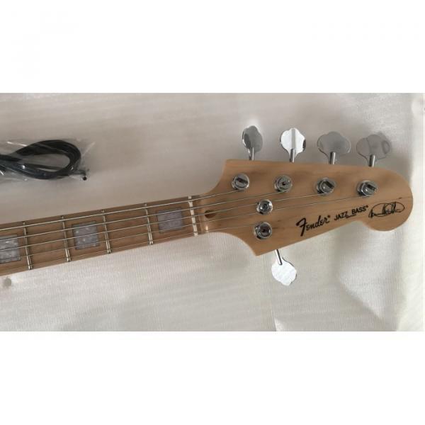 Custom Shop Vintage Marcus Miller Signature 5 String Jazz Bass Wilkinson Parts #2 image