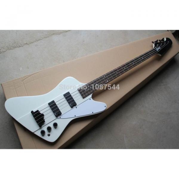 Custom Shop Thunderbird White Electric Bass #3 image