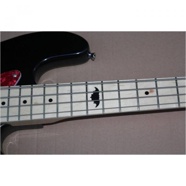 Custom Shop Squire Black Wilkinson Parts 4 String Bass #5 image
