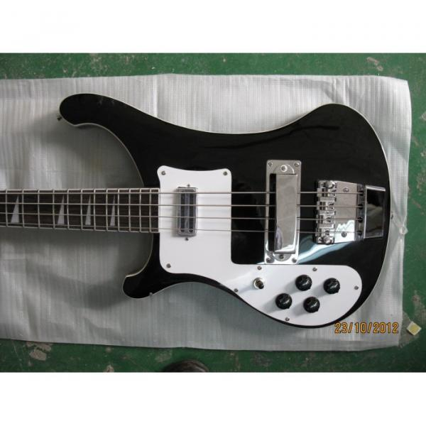 Custom Shop Rickenbacker Left Black 4003 Bass #1 image