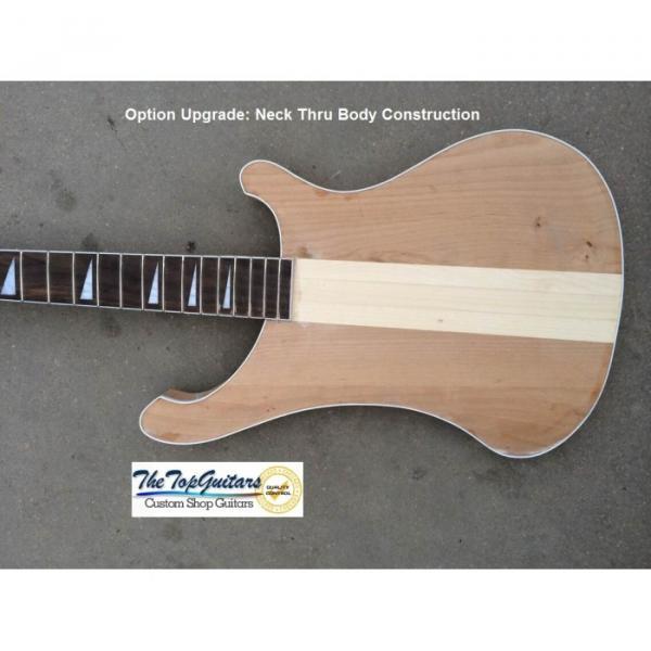 Custom Shop Rickenbacker Silver Burst 4003 Bass #4 image