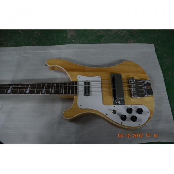 Custom Shop 4003 Rickenbacker Left Natural Bass #3 image