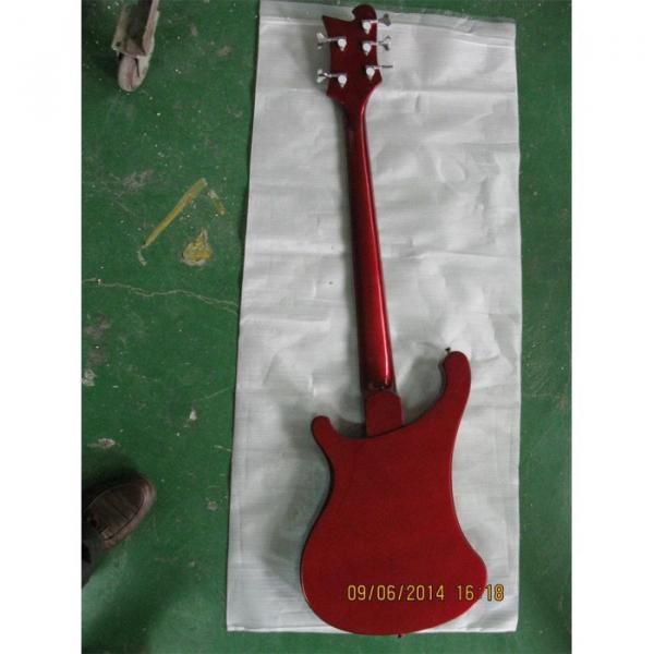 Custom Shop Red Wine 4003 5 String Bass #2 image