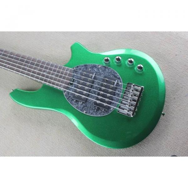 Custom Shop Passive Pickups Bongo Music Man Green 6 Strings Bass #1 image