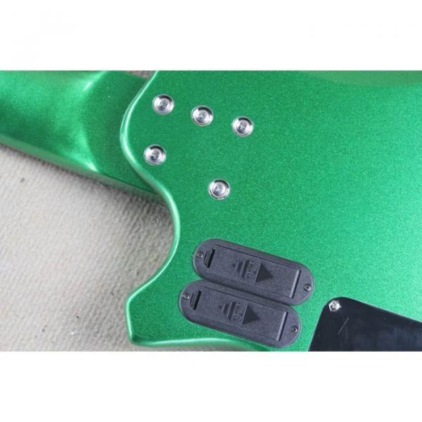 Custom Shop Passive Pickups Bongo Music Man Green 6 Strings Bass #2 image