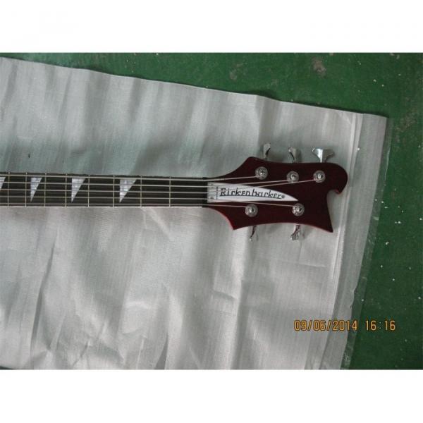 Custom Shop Red Wine 4003 5 String Bass #5 image