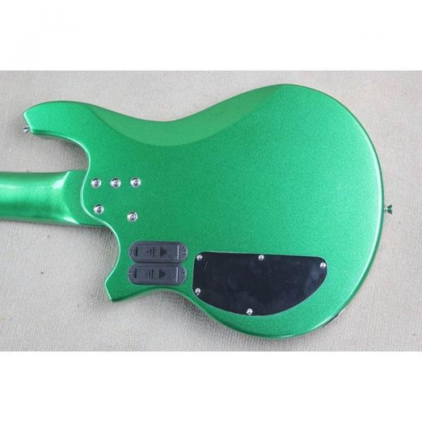 Custom Shop Passive Pickups Bongo Music Man Green 6 Strings Bass #4 image