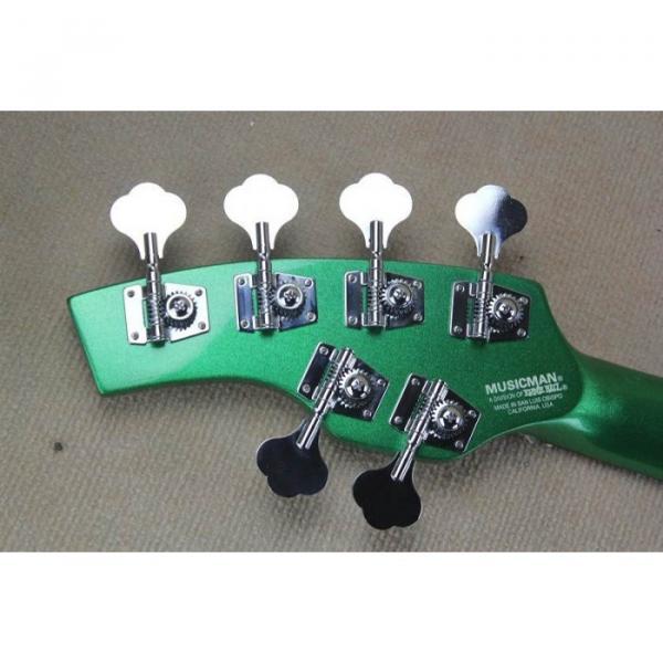Custom Shop Passive Pickups Bongo Music Man Green 6 Strings Bass #5 image