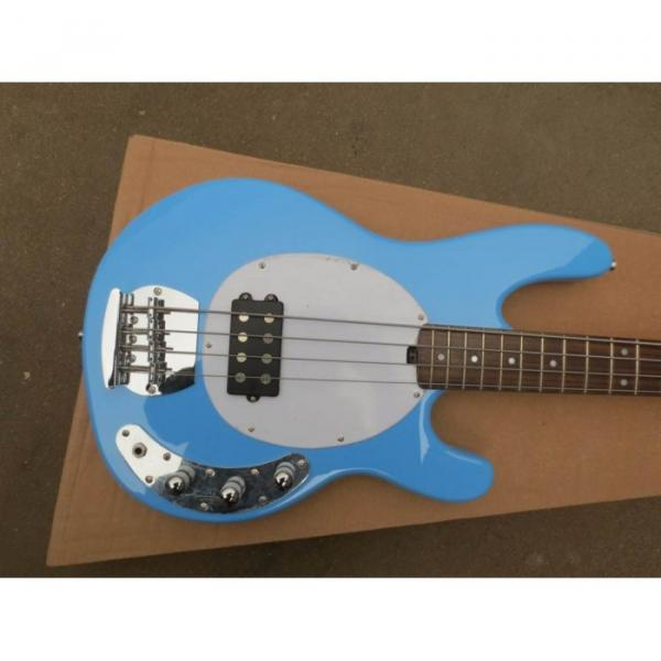 Custom Shop Music Man Sky Blue Electric Bass #1 image