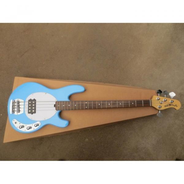 Custom Shop Music Man Sky Blue Electric Bass #2 image