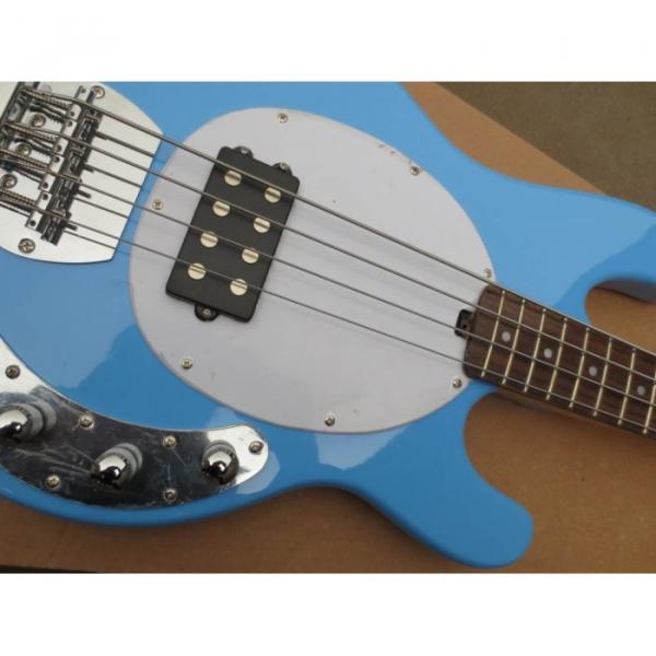 Custom Shop Music Man Sky Blue Electric Bass #5 image