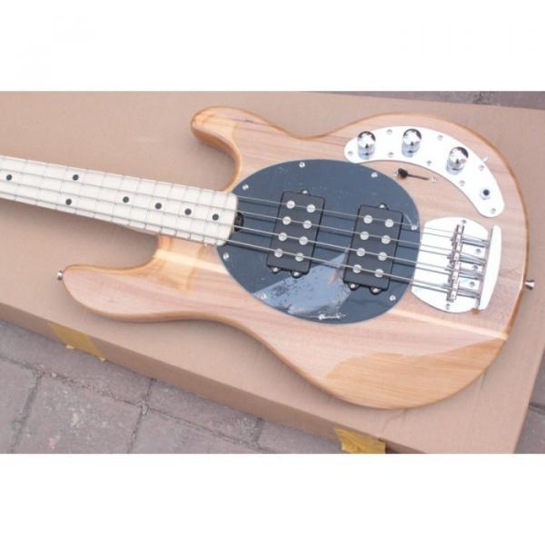 Custom Shop Music Man Natural Electric Bass #1 image