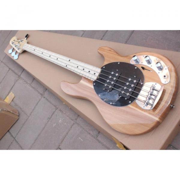 Custom Shop Music Man Natural Electric Bass #3 image