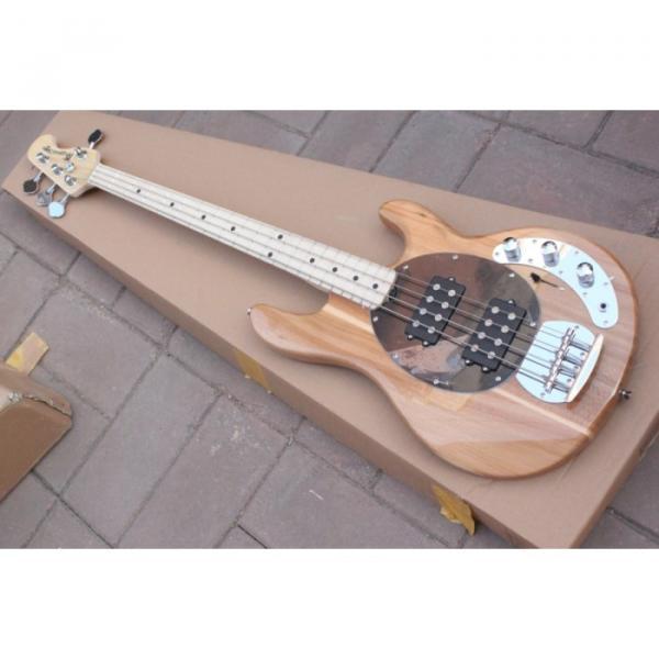 Custom Shop Music Man Natural Electric Bass #2 image