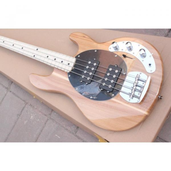 Custom Shop Music Man Natural Electric Bass #5 image