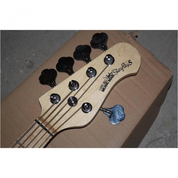 Custom Shop Music Man S.U.B. Ray5 Electric Bass Stingray Sunburst #5 image