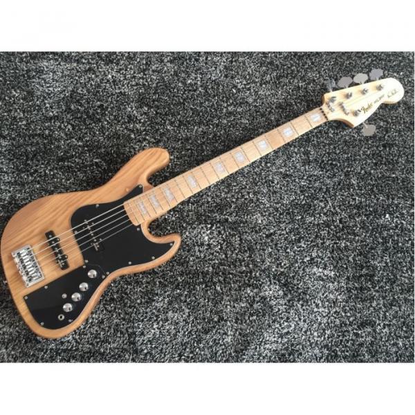 Custom Shop Marcus Miller Signature Ash Wood Jazz 5 String Bass #1 image