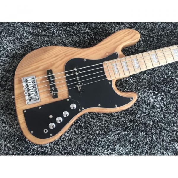 Custom Shop Marcus Miller Signature Ash Wood Jazz 5 String Bass #4 image