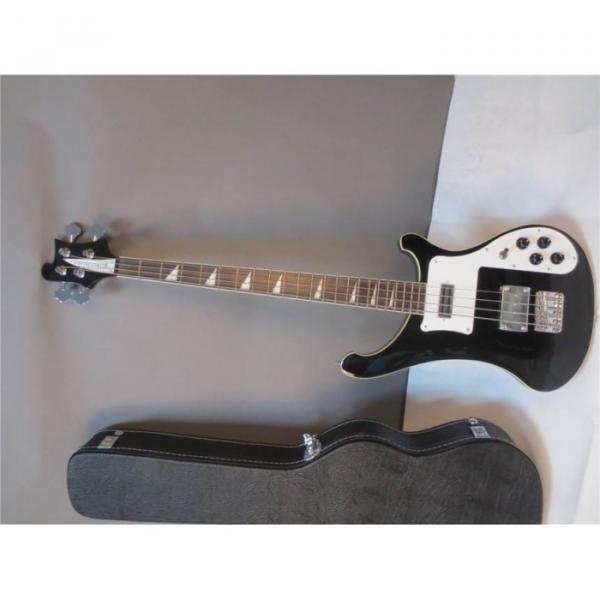 Custom Shop Jetglo 4003 Black Custom Pickups Bass #1 image