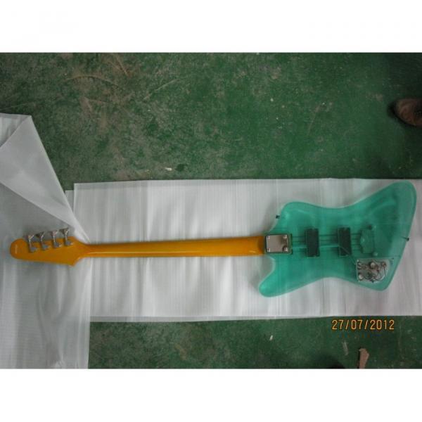 Custom Shop Green Acrylic 4 String Bass #5 image