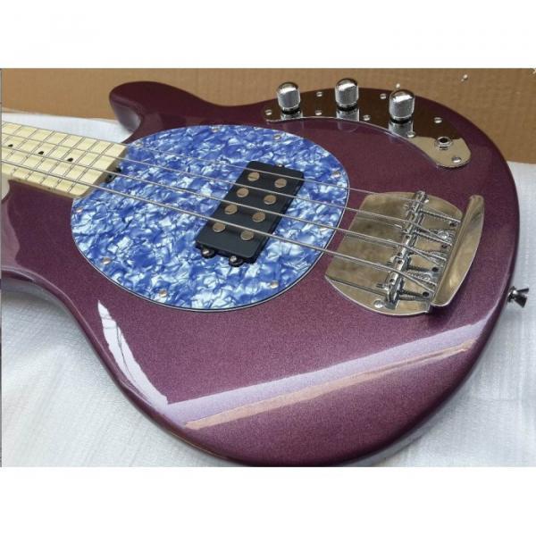 Custom Shop Ernie Ball Sting Ray 4 Strings Purple Bass #1 image