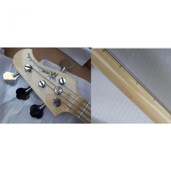 Custom Shop Ernie Ball Sting Ray 4 Strings Purple Bass #3 image