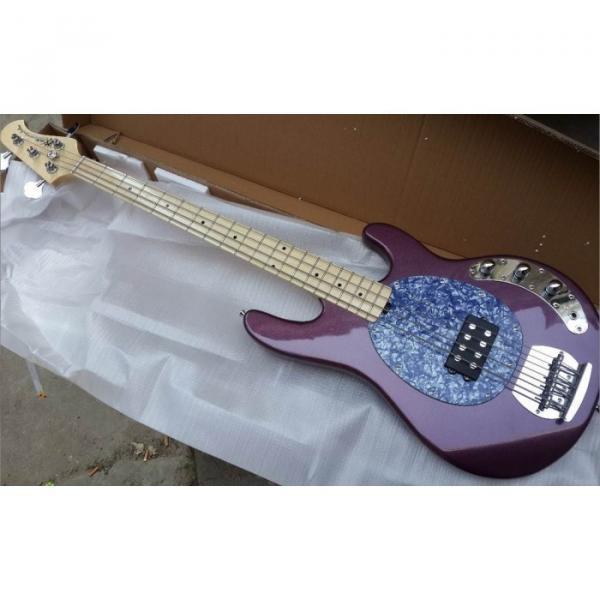 Custom Shop Ernie Ball Sting Ray 4 Strings Purple Bass #5 image