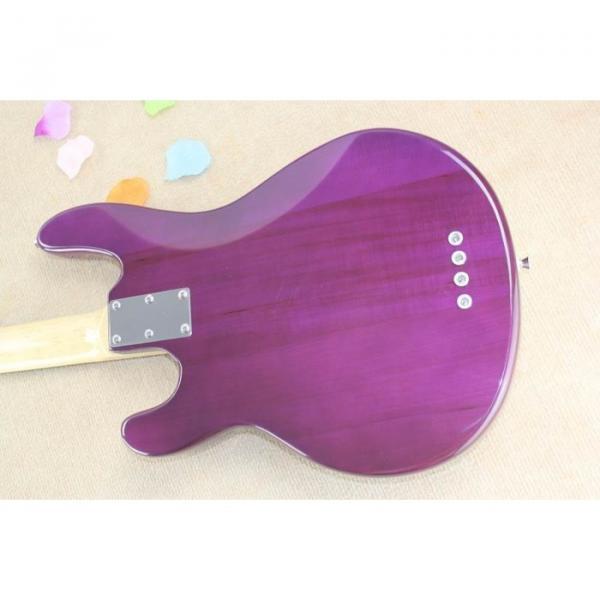 Custom Shop Ernie Ball Musicman Sting Ray 4 Strings Purple Bass #5 image