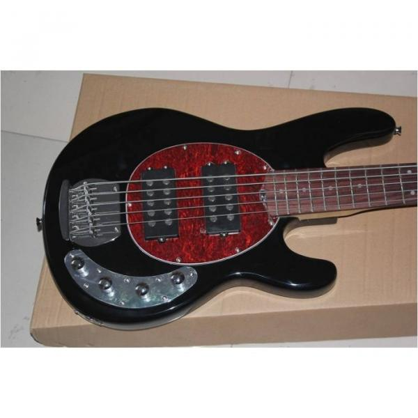 Custom Shop Black StingRay 4 String Bass Wilkinson Parts #1 image