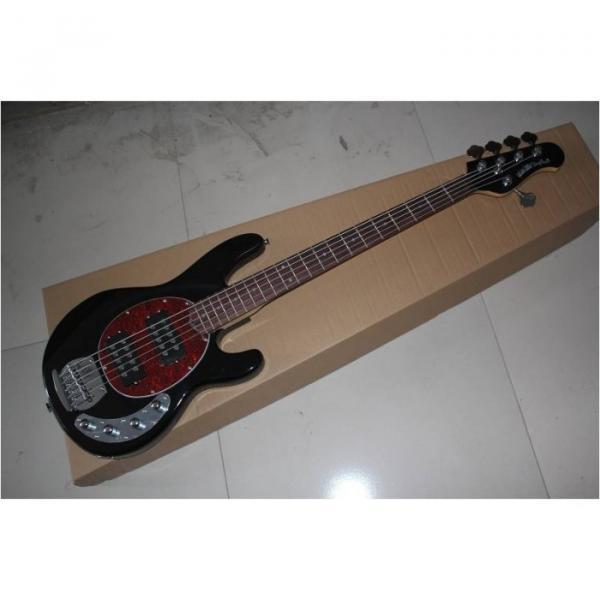 Custom Shop Black StingRay 4 String Bass Wilkinson Parts #3 image