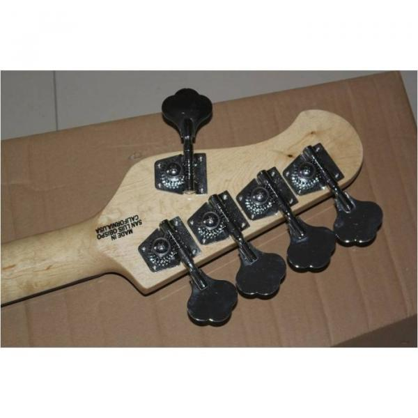 Custom Shop Black StingRay 4 String Bass Wilkinson Parts #4 image