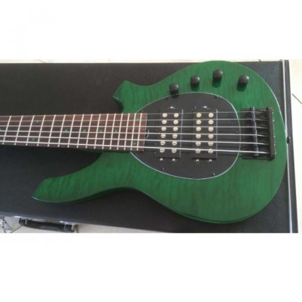 Custom Shop Bongo Music Man Green Quilted Maple Top 6 Strings Bass #1 image