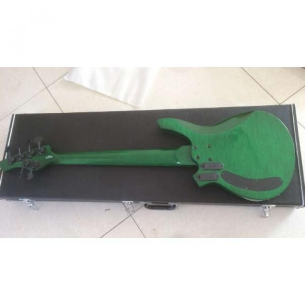 Custom Shop Bongo Music Man Green Quilted Maple Top 6 Strings Bass #4 image