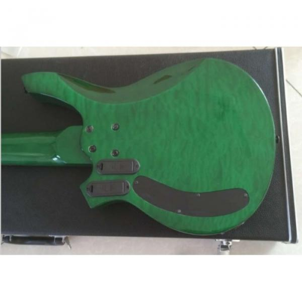 Custom Shop Bongo Music Man Green Quilted Maple Top 6 Strings Bass #5 image