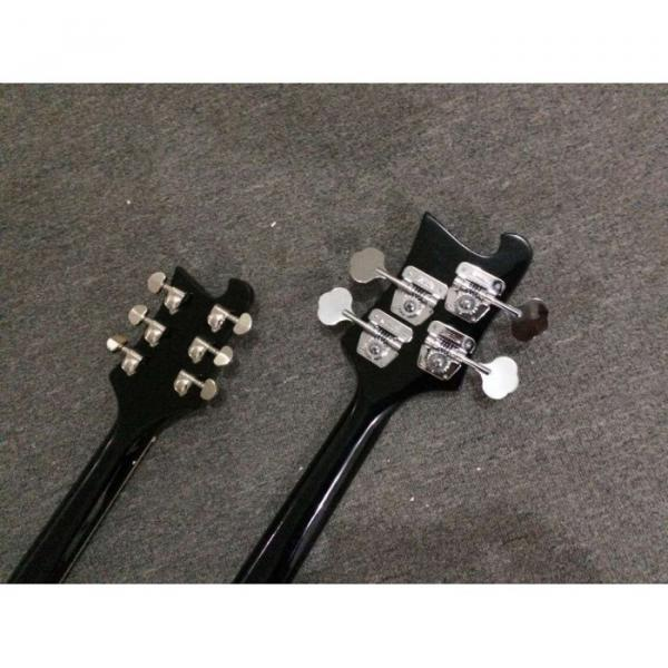 Custom Shop 4080 Double Neck Geddy Lee 4 String Bass 6/12 String Option Guitar #5 image