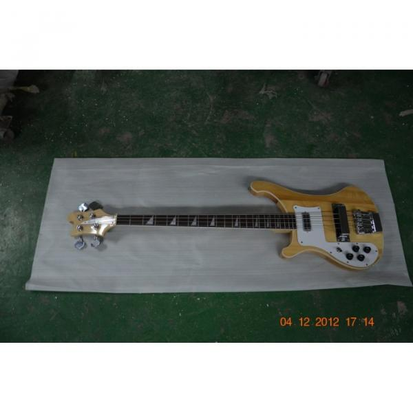 Custom Shop 4003 Rickenbacker Left Natural Bass #1 image
