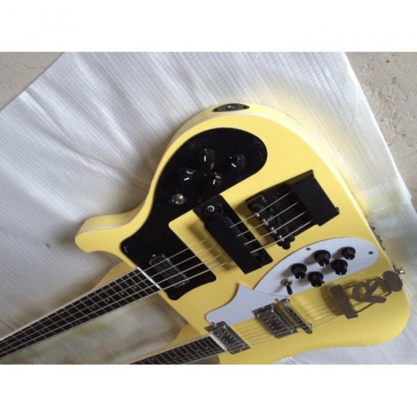 Custom Shop 4003 Double Neck Yellow Bass #3 image