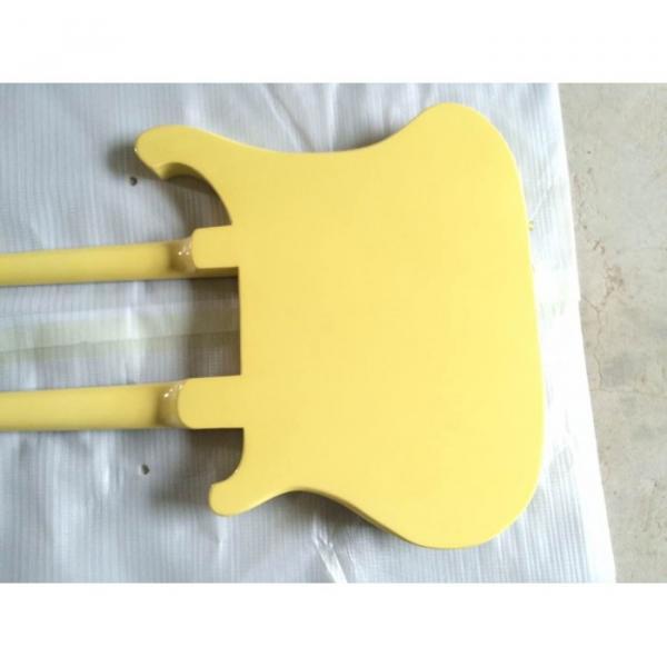 Custom Shop 4003 Double Neck Yellow Bass #5 image