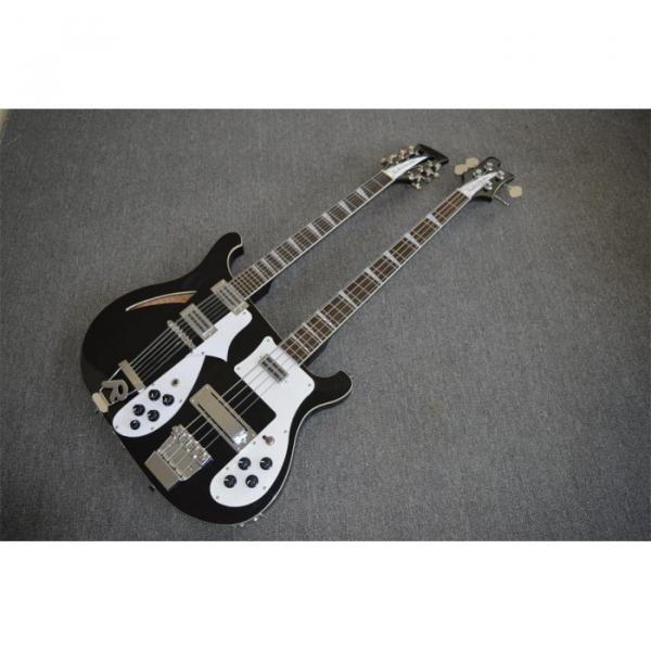 Custom Shop 4003 Double Neck Mike Rutherford of Genesis 4 String Bass 6/12 String Option Guitar #1 image