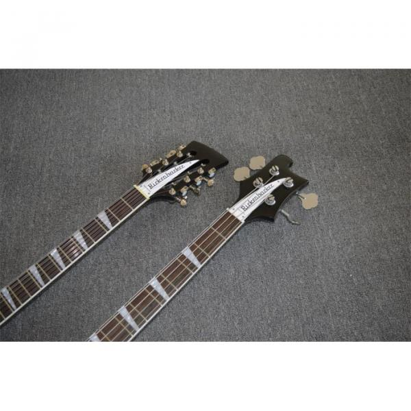 Custom Shop 4003 Double Neck Mike Rutherford of Genesis 4 String Bass 6/12 String Option Guitar #3 image