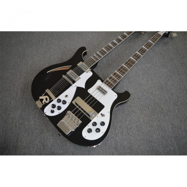 Custom Shop 4003 Double Neck Mike Rutherford of Genesis 4 String Bass 6/12 String Option Guitar #4 image