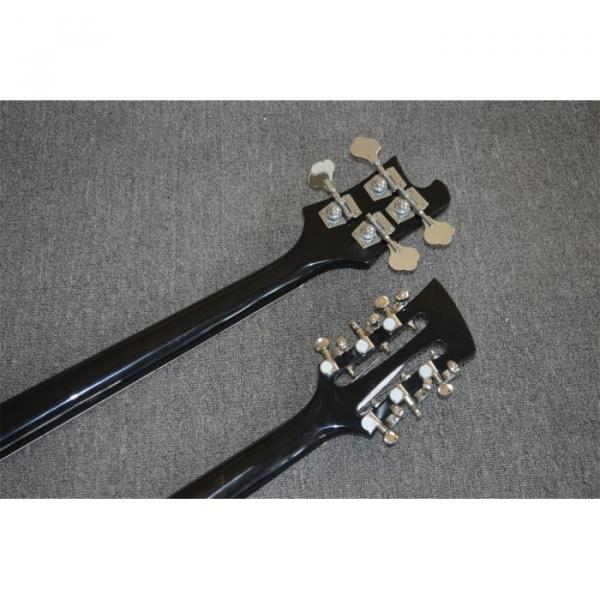 Custom Shop 4003 Double Neck Mike Rutherford of Genesis 4 String Bass 6/12 String Option Guitar #5 image