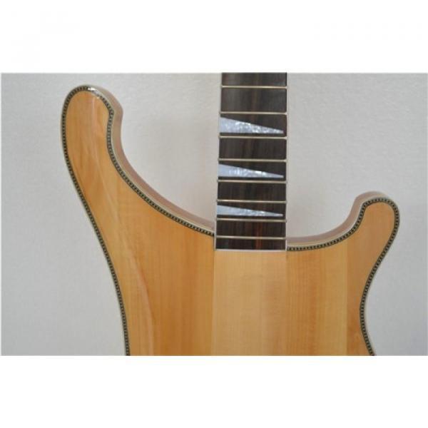 Custom Paul Mccartney Unfinished Project  Neck Thru Body 4003 Bass Checkerboard Bindings #2 image
