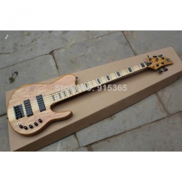 Custom One Piece Neck Active Pickups Warwick 5 Strings Bass #3 image