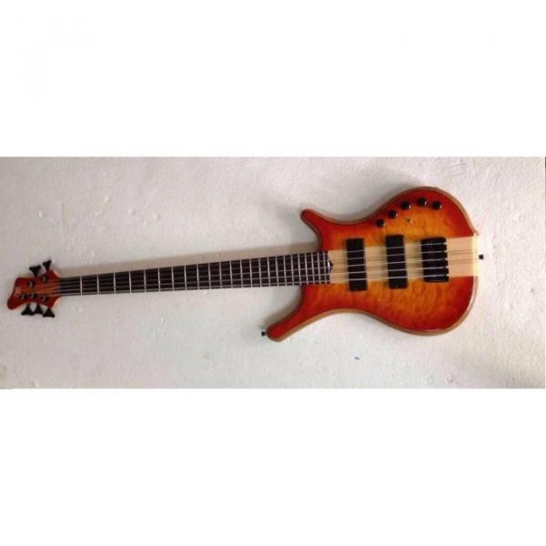 Custom Mayones Built 6 String Sunburst Bass #1 image