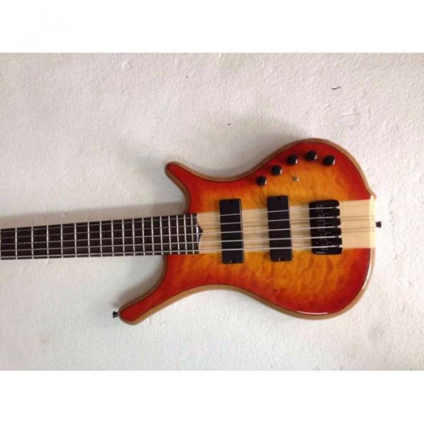 Custom Mayones Built 6 String Sunburst Bass #2 image