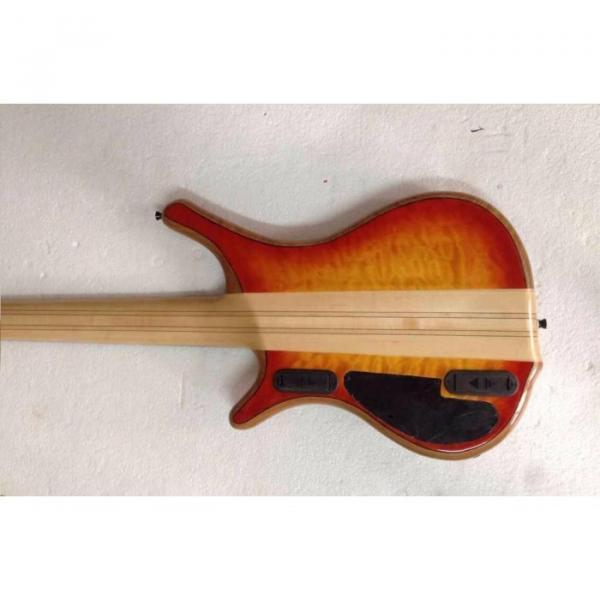 Custom Mayones Built 6 String Sunburst Bass #3 image